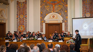 Image for Gail Kligman receives honorary doctorate from celebrated Romanian university