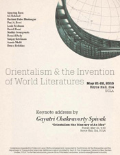 Orientalism and the Invention of World Literatures, Day 1 of 2