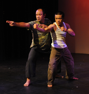 Theater artists speak on their work on the U.S. Silent War on Laos