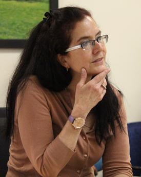 UCLA historian Robin Derby. (Photo: Kyilah Terry/ UCLA.)