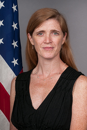 "Daniel Pearl Memorial Lecture with Samantha Power, U.S. Permanent Representative to the United Nations: ""The War on Truth (and what we must do to win it)"""