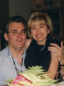 Sandra Mabritto and Stephen Bell, Santa Monica, August 2000. (Photo provided by Bell.)