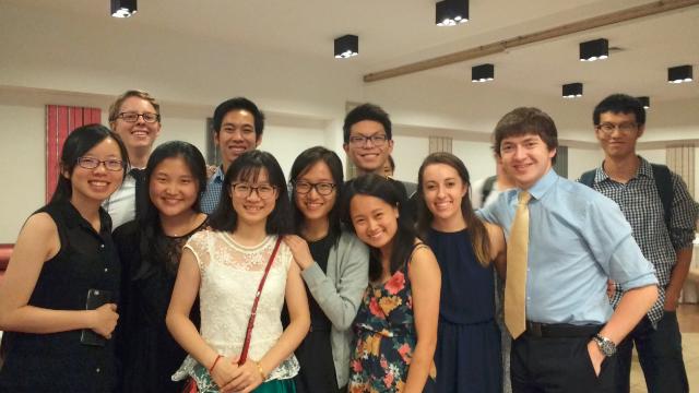 Feedback, 2016 JRI Summer Research Program at PKU