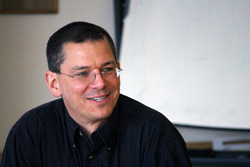 Mike Thies, chair of the undergraduate International & Area Studies Program. (Photo: Peggy McInerny/ UCLA.)