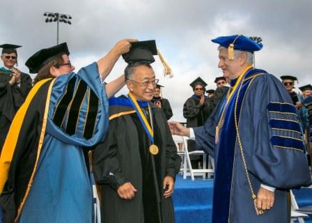 Dr. Paul Terasaki awarded UCLA Medal at Commencement