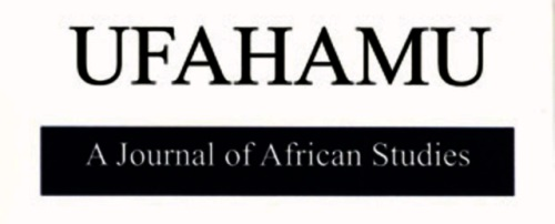 Ufahamu: A Journal of African Studies