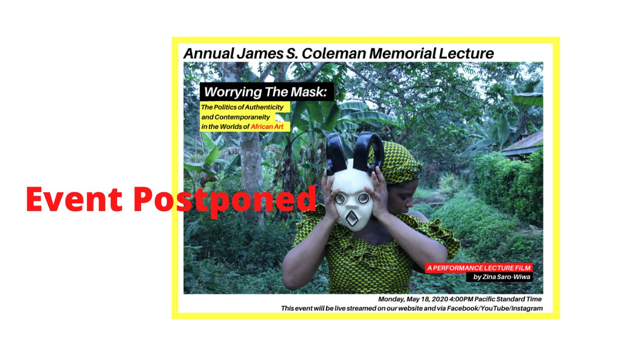 Image for RSVP: 2020 Coleman Memorial Lecture Monday 5/18