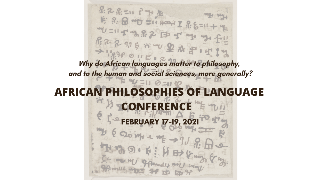 Image for Registration Open: African Philosophies of Language Conference