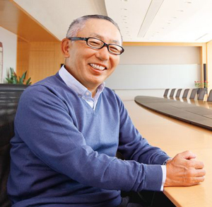 Tadashi Yanai, CEO of Uniqlo. (Photo: Fast Retailing.)
