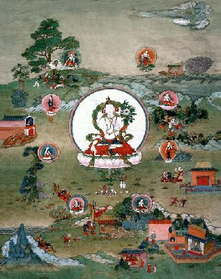 nature imagery in tibetan art