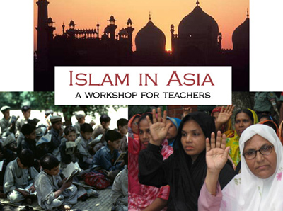 Islam in Asia -- a workshop for teachers