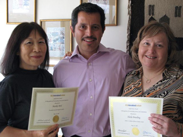 International Institute Staffers Honored