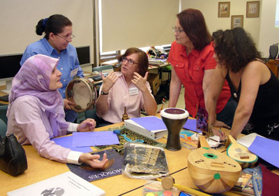 Arabic, Hebrew Schoolteachers Trade Classroom, Cultural Knowledge at UCLA Language Workshop