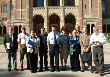High Level Cultural Delegation from Armenia Meets with UCLA Film & Television Archive Specialists