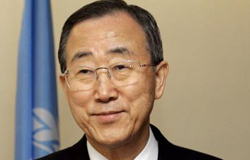 "Ban Ki-moon, Secretary-General of the United Nations: ""Mobilizing the Global Citizenry: the United Nations in a Changing World"""