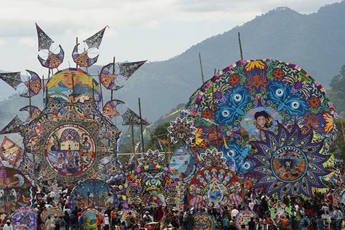 Día de los Muertos in Guatemala: Celebrating the dead through the art of giant kites