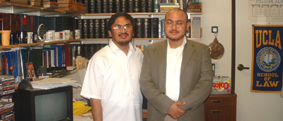 Head of Philippine Islamic Council Meets with Eminent UCLA Scholar of Islamic Law