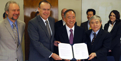 Renewed Agreement with Korean University