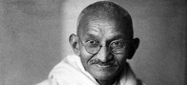 Who was the real Gandhi?