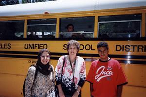 Hamilton High Students Briefed on Mideast