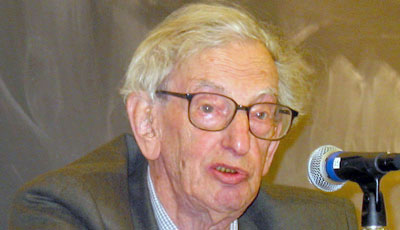 Eric Hobsbawm Speaks on His New Memoir