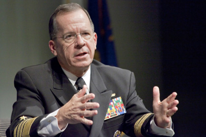 Admiral Michael Mullen Speaks at UCLA Burkle Center Event with Renee Montagne