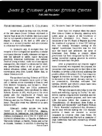 Newsletter Fall 2005
