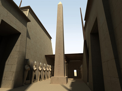 UCLA Brings Egyptian Temple Karnak to Life