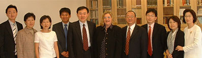 Top Administrators of Ewha University Consult UCLA on Business Operations Planning