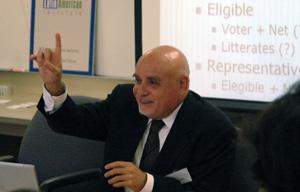 Eustaquio Reis, of the Instituto de Pesquisa Econmica Aplicada (IPEA), Brazil
