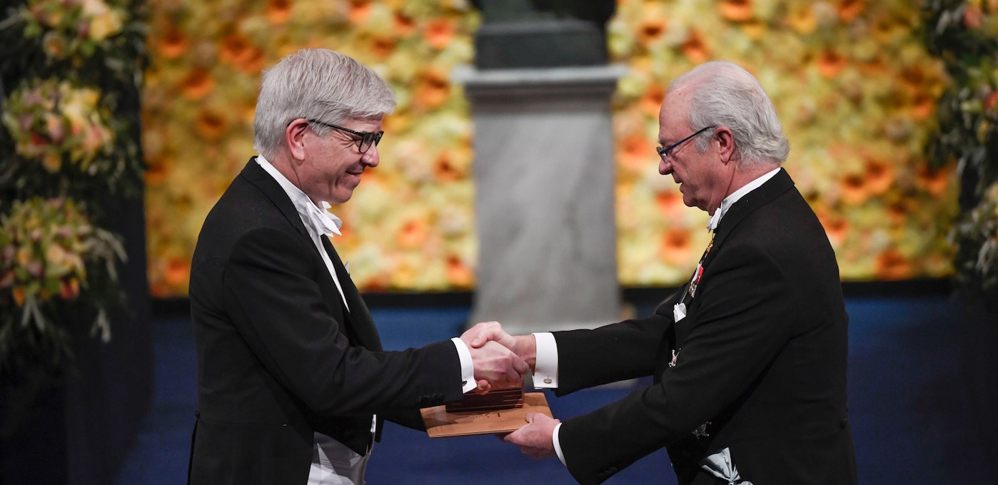 Image for VIDEO AND PODCAST AVAILABLE NOW: Nobel Prize Winner and Professor of Economics, Paul Romer delivered the 2018-19 Harberger Lecture on Economic Development