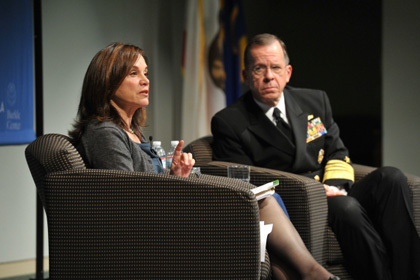 Admiral Michael Mullen Speaks at UCLA about Terrorism, Repeal of
