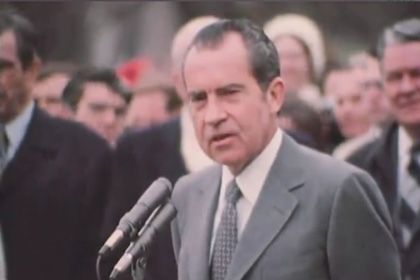 White House and private H.R. Haldemann film footage of the 1972 China Summit