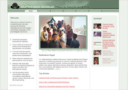 Outreach World Website Launches