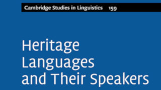 Image for Heritage Languages and their Speakers