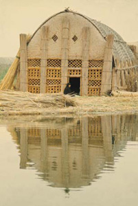 Fowler Exhibit Showcases Marsh Arabs and Their 'Floating Houses'