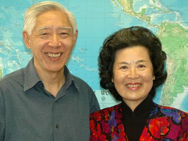 Robert and Patsy Sung