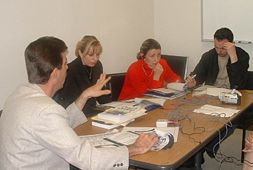 Bosnia-Herzegovina Journalists Visit UCLA to Consult on Investigative Crime and Terrorism Reporting