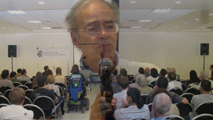 Peter Singer at UCLA Critiques President Bush's Ethics