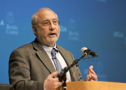 Nobel Laureate Joseph Stiglitz Discusses Economy in Arnold C. Harberger Distinguished Lecture
