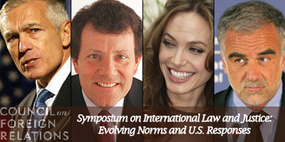 Burkle Fellow Gen. Clark (Ret.) in Symposium on International Law & Justice