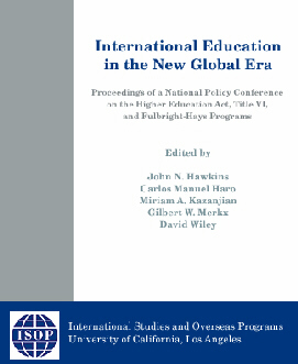 International Education in the New Global Era