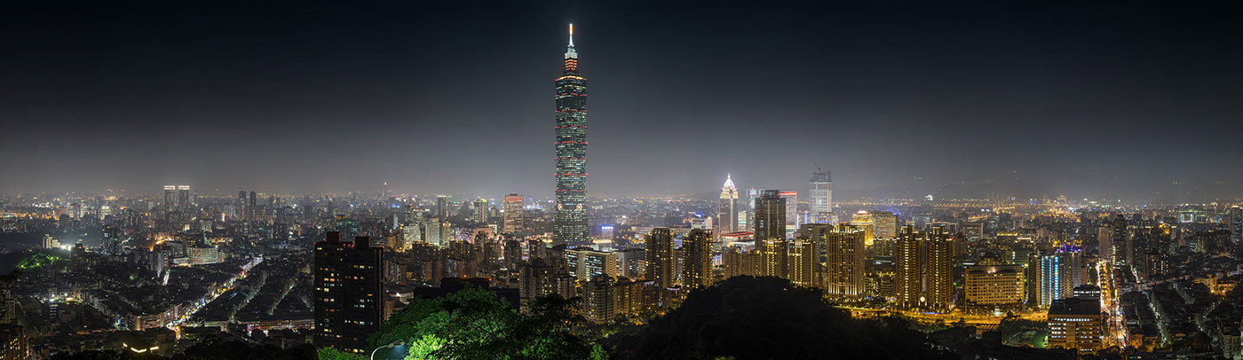 Photo for Taipei Skyline at Night