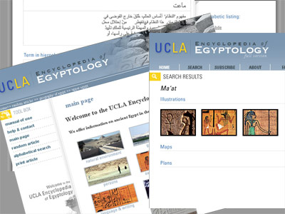 Construction Begins on UCLA Encyclopedia of Egyptology