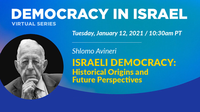 "Photo for ""Israeli Democracy: Historical Origins and"